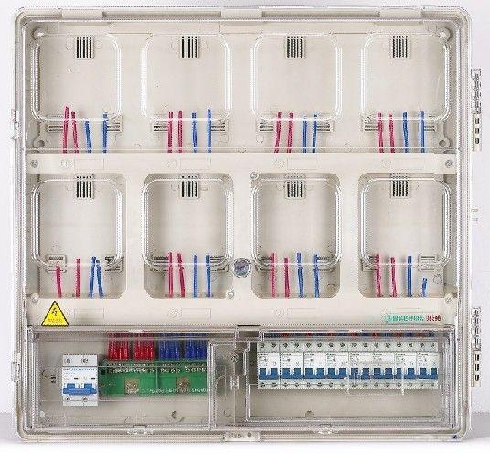 单相八位机械式电表箱