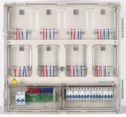 铜仁单相八位机械式电表箱